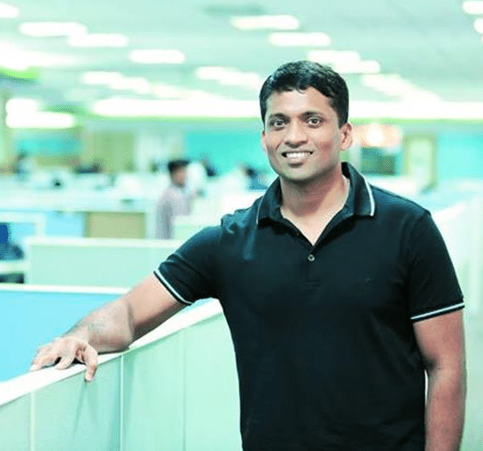 Byju Raveendran Indian Founder & CEO of BYJU (The Learning App)