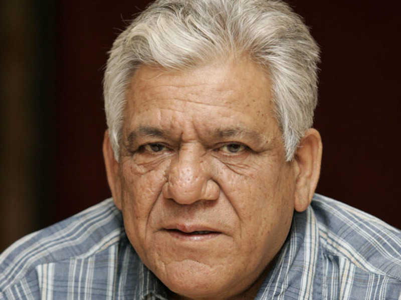 Om Puri Indian Actor