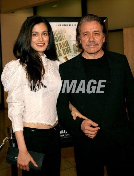 Photo of Edward James Olmos  & his  Daughter  Tamiko Olmos