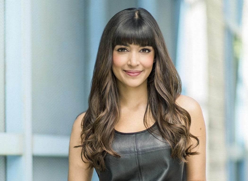 Hannah Simone British, Canadian Actress, Model, Television Hostess, VJ
