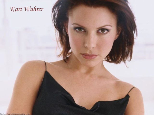 Kari Wuhrer American Actress and Singer