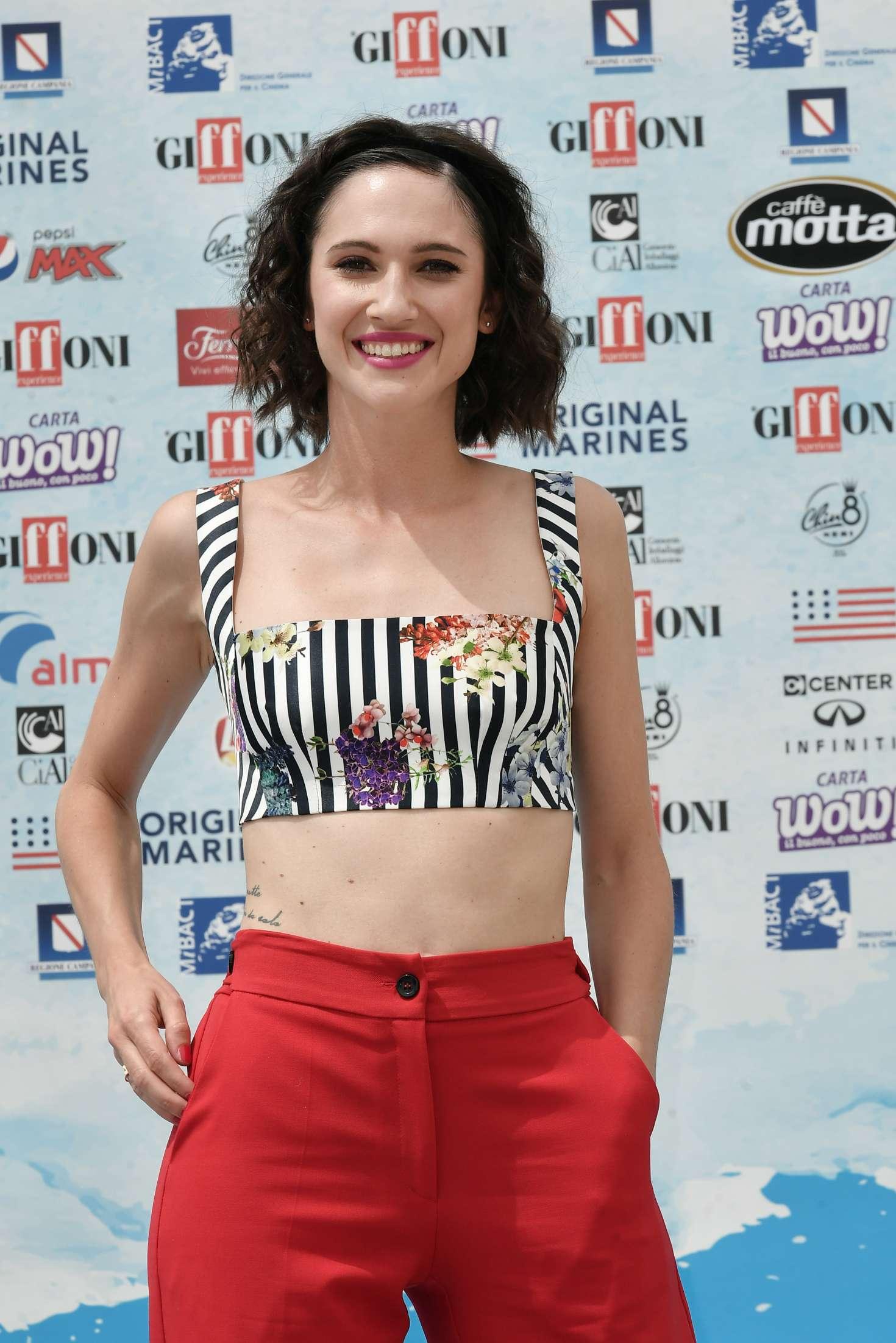 Lodovica Comello Italian Actress