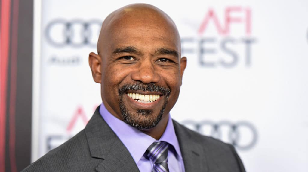Michael Beach face