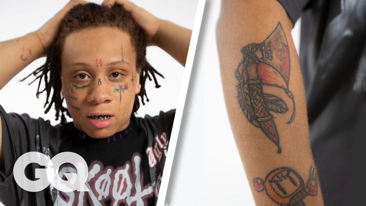 Trippie Redd Tattoos