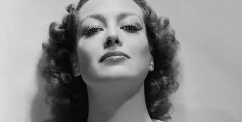 Joan Crawford. American. Film and TV Actress