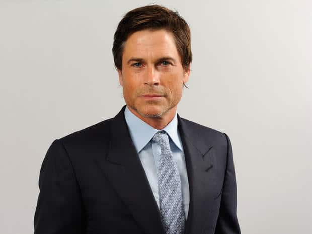Rob Lowe. American Actor, Producer and Director.