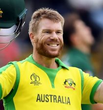 David Warner International Cricketer
