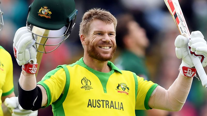 David Warner Australian International Cricketer