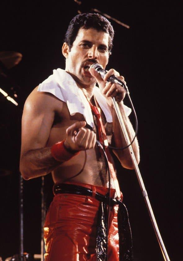 Freddie Mercury British Singer, Songwriter, Record producer