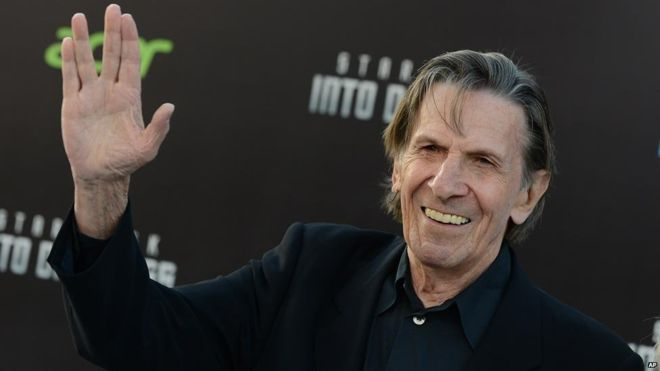 Leonard Nimoy American Actor, Film Director, Photographer, Author, Singer and Songwriter