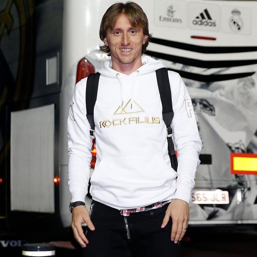 Luka Modric Croatian Professional Footballer