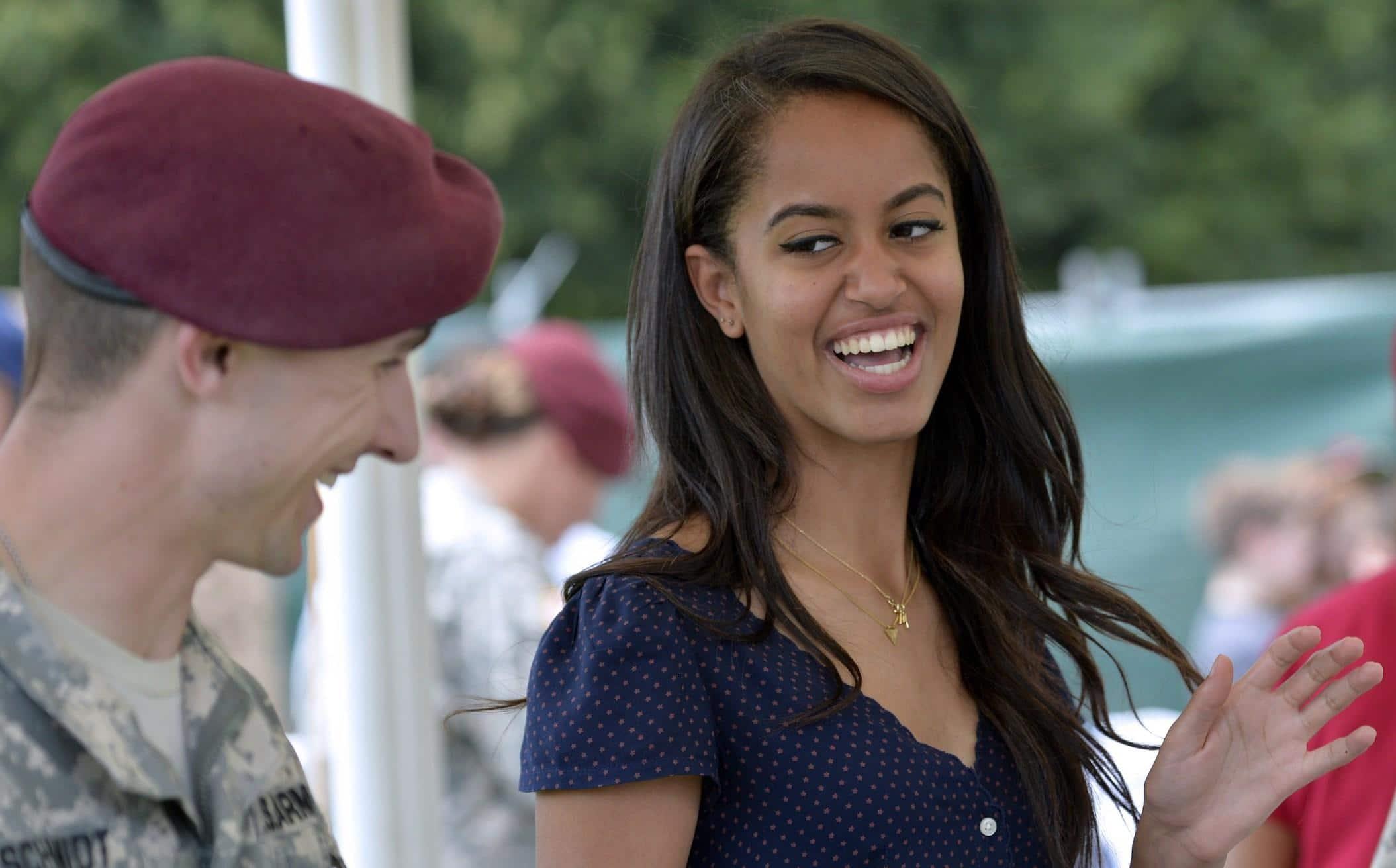 Malia Ann Obama Hair