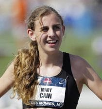 Mary Cain Professional American Middle Distance Runner