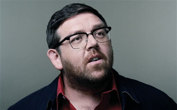 Nick Frost British Actor, Comedian, Screenwriter, Producer, Author