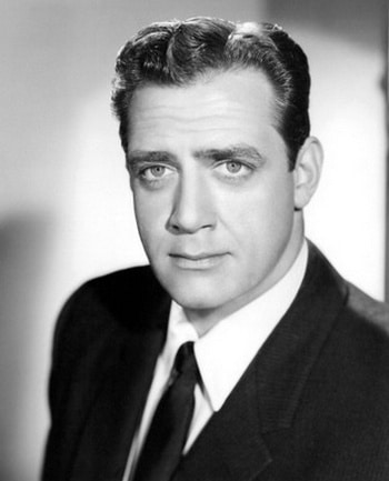 Raymond Burr Canadian Actor