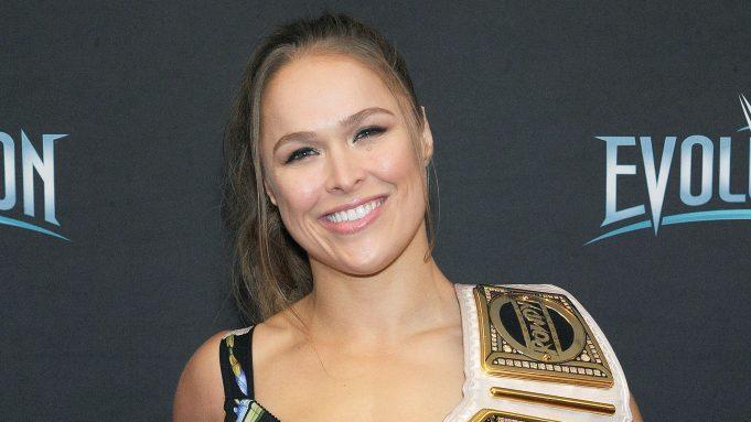 Ronda Rousey American Wrestler