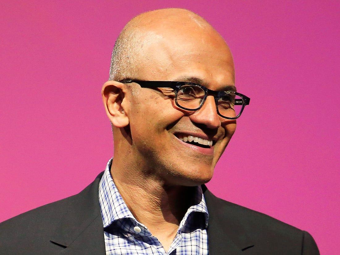 Satya Nadella Indian, American Engineer, American, Business Executive