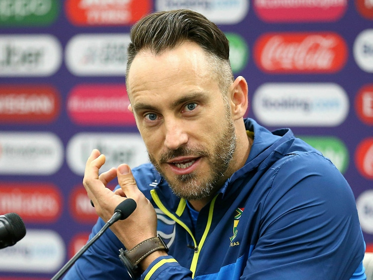 Faf du Plessis South African Cricketer