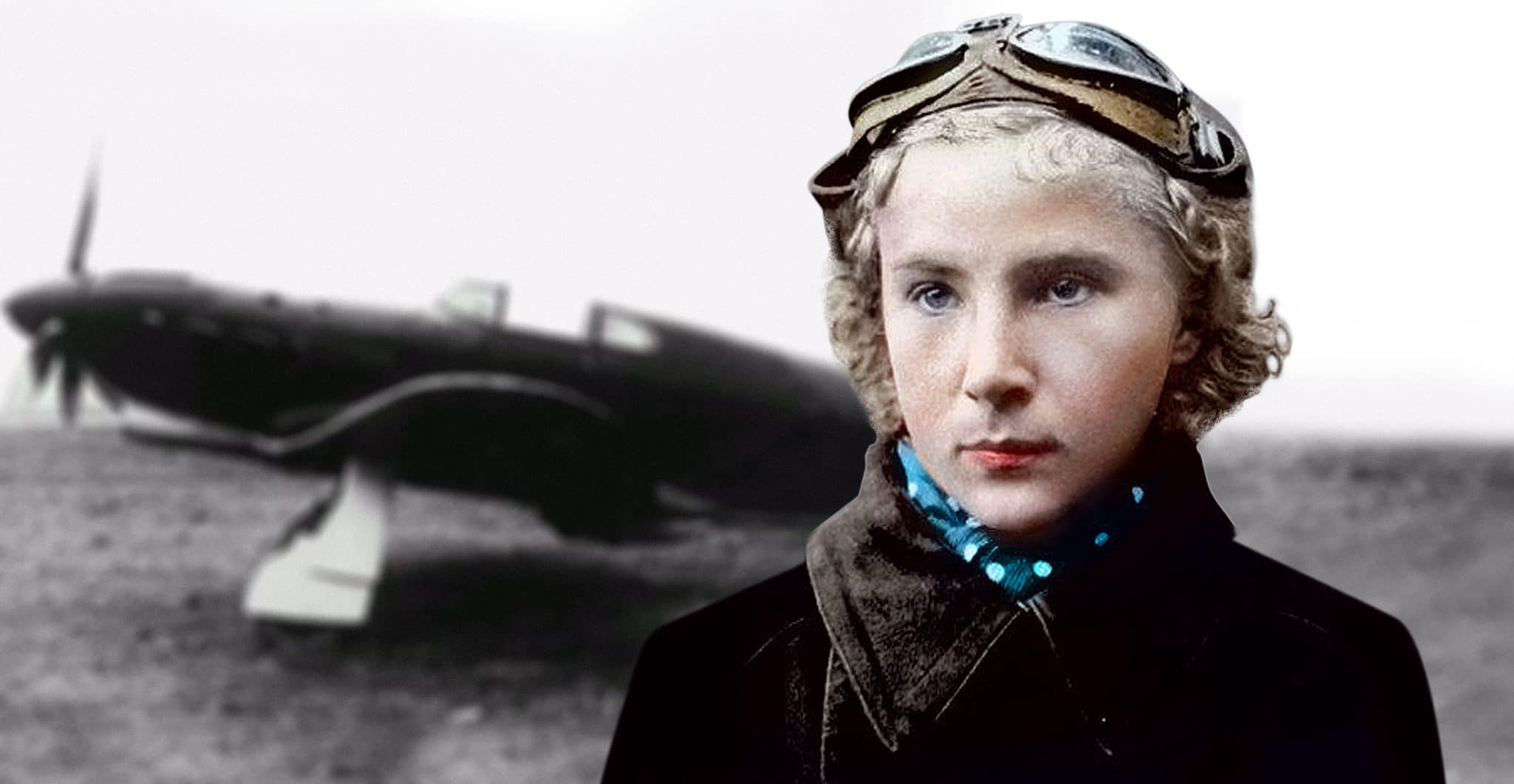Lydia Litvyak Russian Fighter Pilot