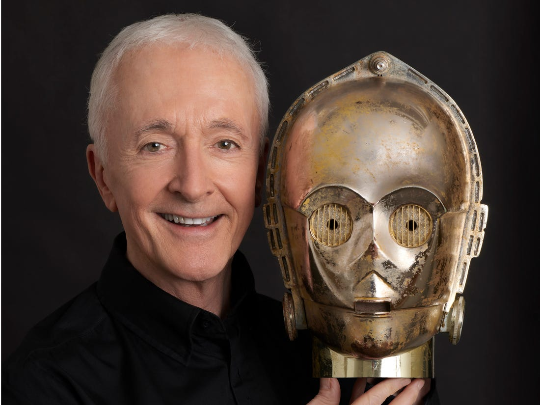 Anthony Daniels British Actor, Voice Actor, and Mime Artist