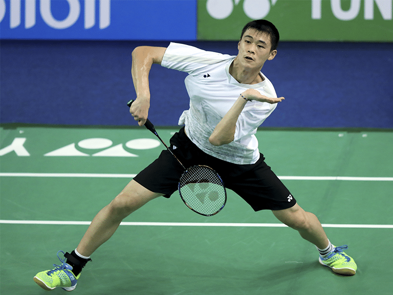 Brian Yang Canadian Badminton Player