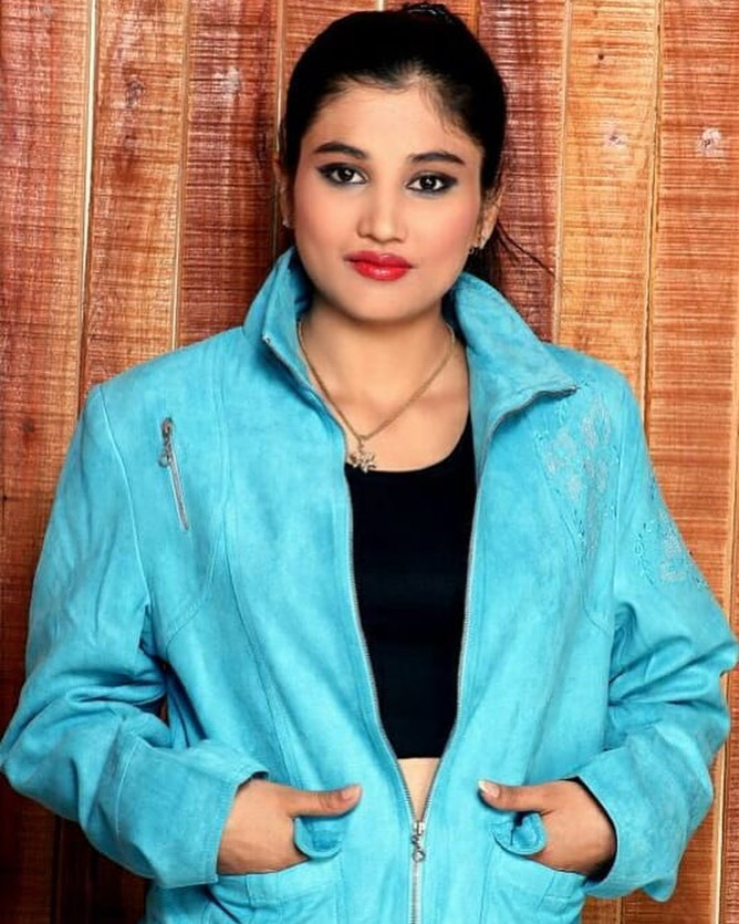 Poonam Pratap Indian TikTok Star, Model