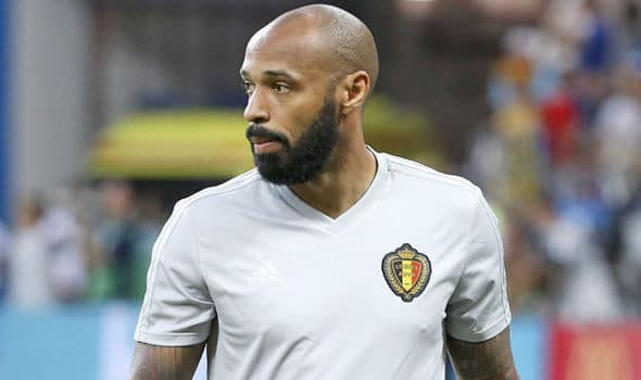 Thierry Henry French Professional Football Coach and Former Player