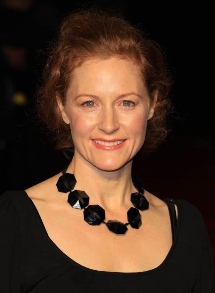 Geraldine Somerville British Actress