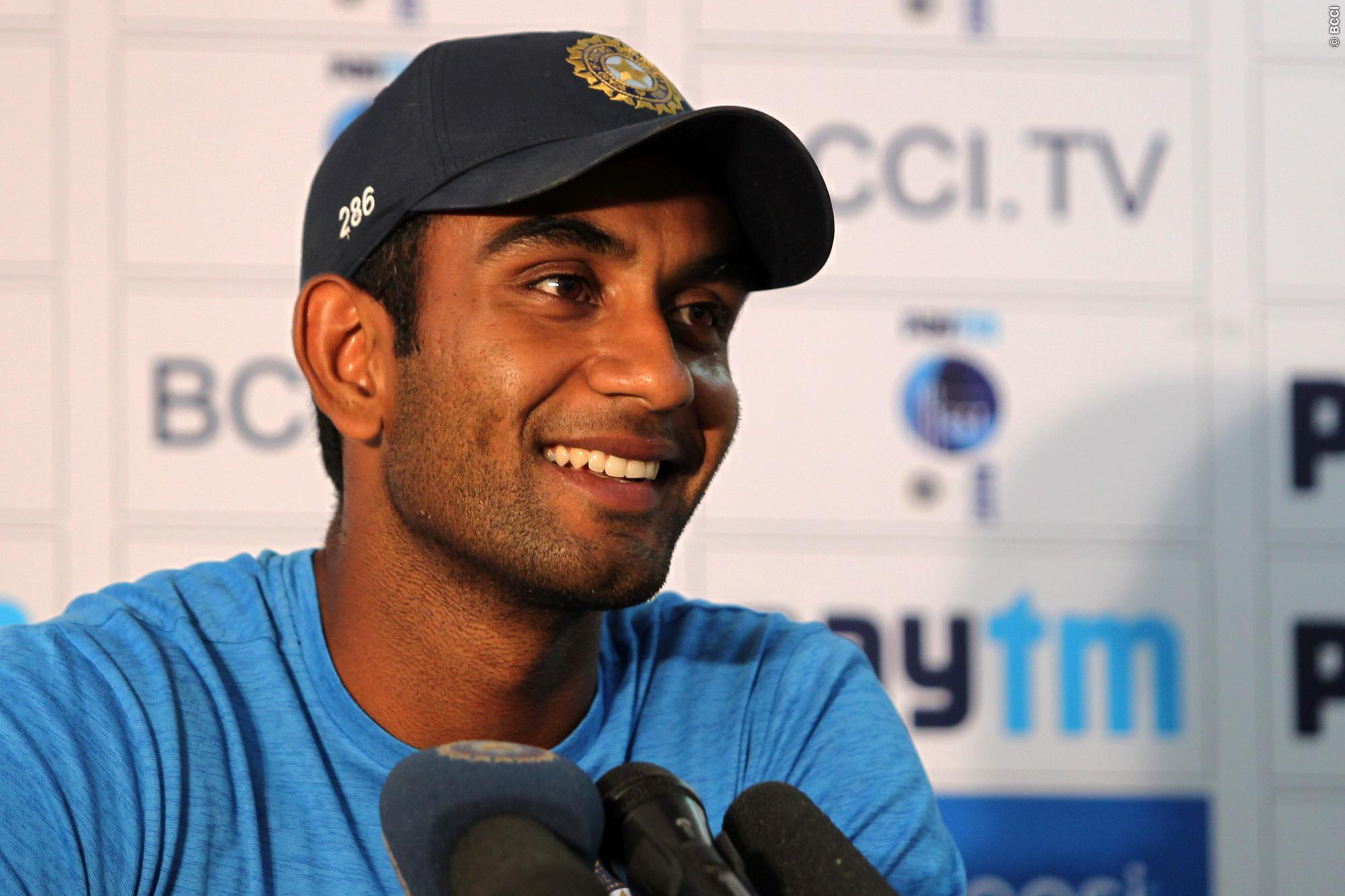 Jayant Yadav Indian Cricketer