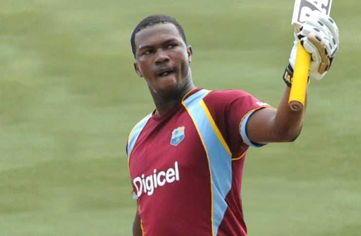 Johnson Charles St. Lucian Cricketer