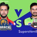 Karachi Kings vs Lahore Qalandars 150x150