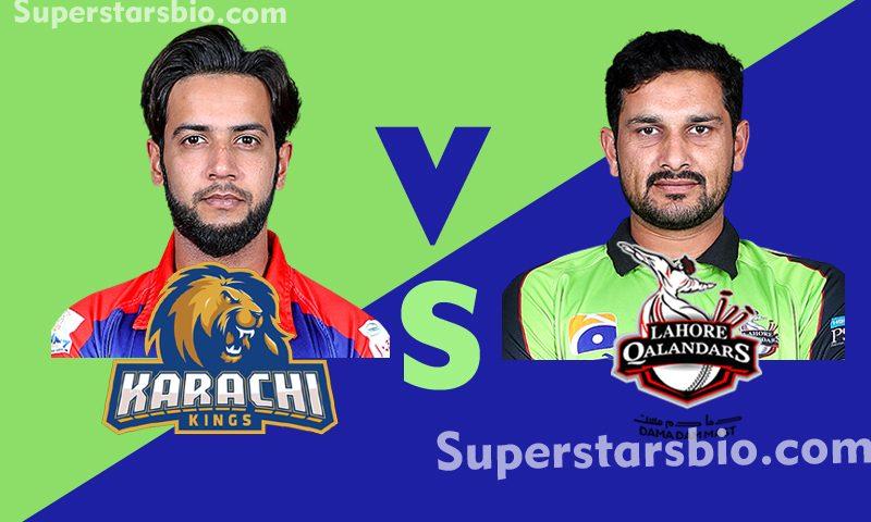 Karachi Kings vs Lahore Qalandars 800x480