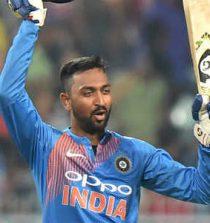 Krunal Pandya Cricketer