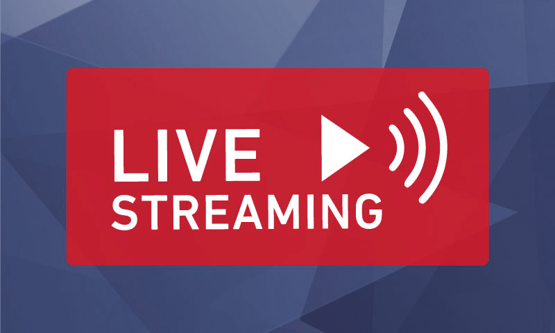 Live streaming 800x480