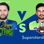 Multan Sultans vs Lahore Qalandars 150x150