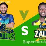 Multan Sultans vs Peshawar Zalmi 150x150