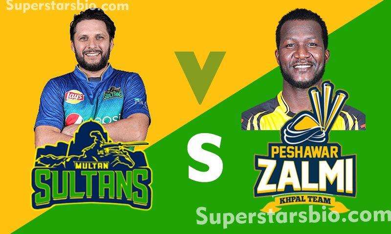 Multan Sultans vs Peshawar Zalmi 800x480