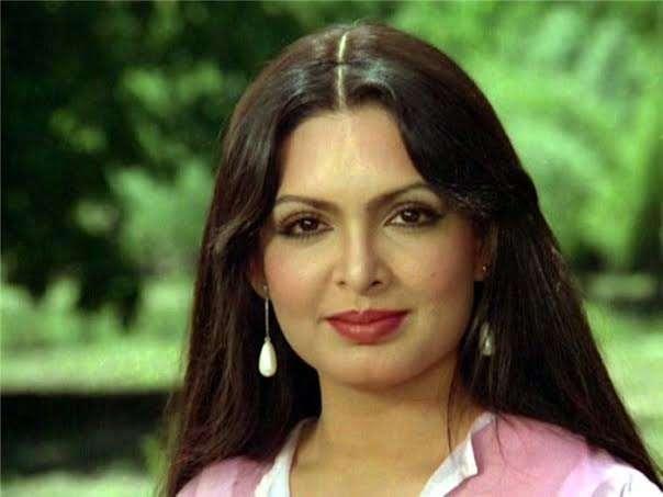 Parveen Babi aged