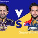 Quetta Gladiator vs Karachi Kings 150x150