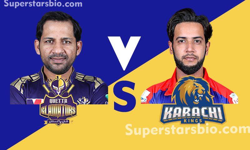 Quetta Gladiator vs Karachi Kings 800x480