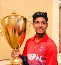 Sandeep Lamichhane Cricketer