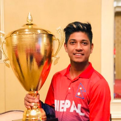 Sandeep Lamichhane Nepalese Cricketer