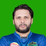 Shahid Afridi Pakistani Cricketer (All-rounder)