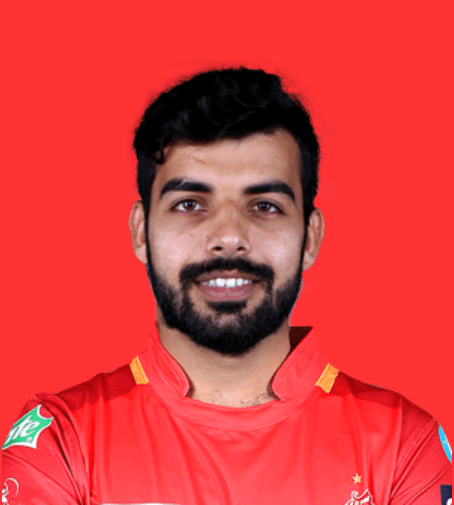 Shadab Khan Pakistani Cricketer