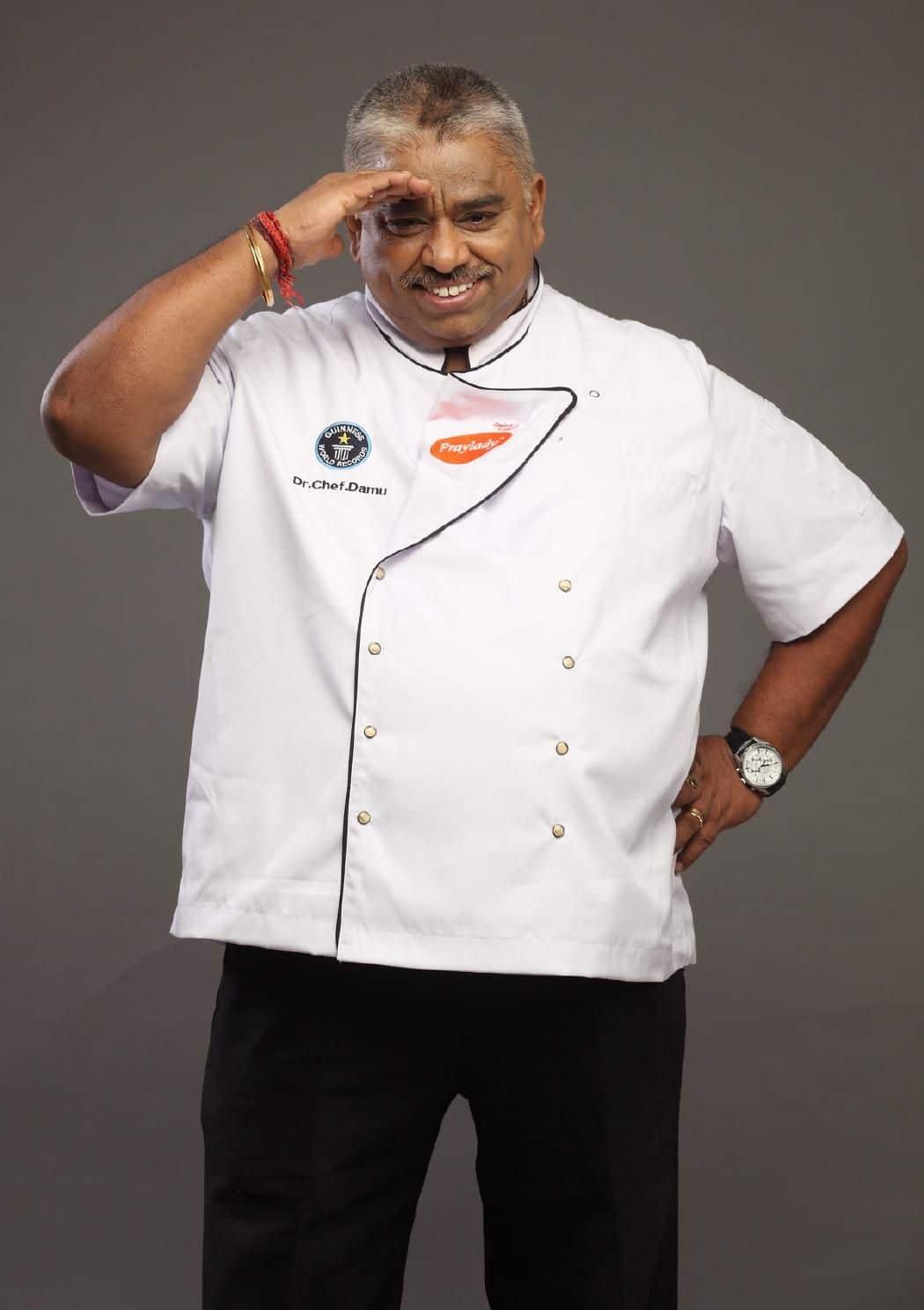 Chef Damodharan Indian Actor