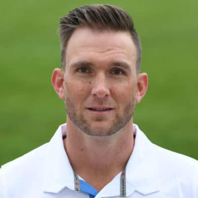 Hardus Viljoen South African Cricketer