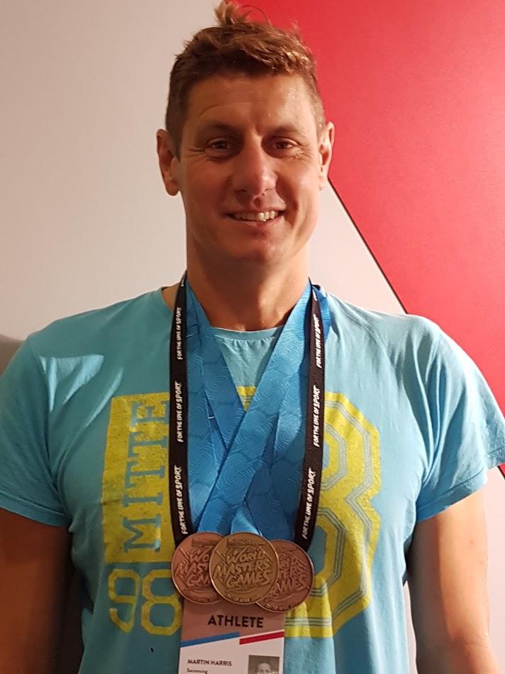Martin Harris British Swimmer