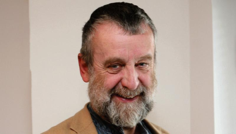 Leitrim author, Michael Harding, was not letting something