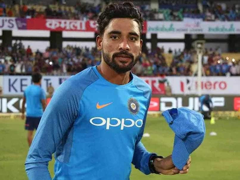 Mohammed Siraj Indian Cricketer