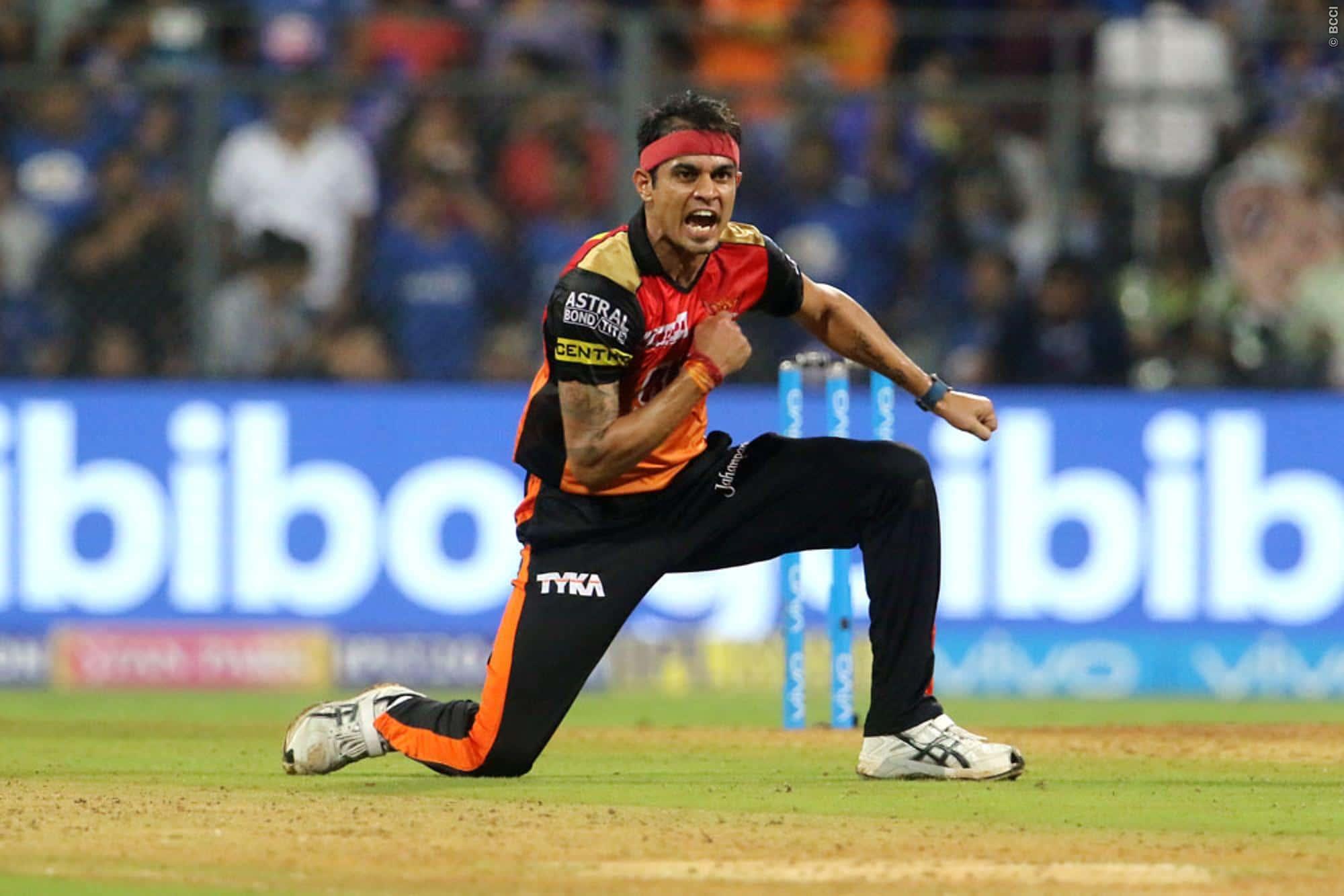 Siddarth Kaul Indian Cricketer